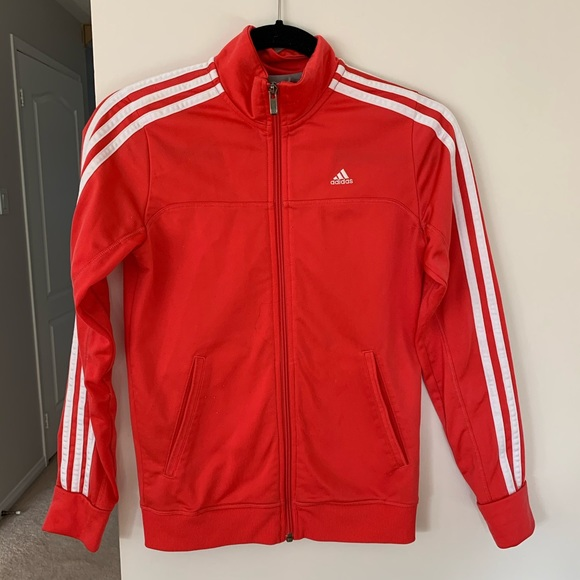 Adidas 3 Stripe Tracksuit Sweater